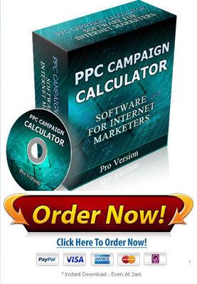Product picture PPC Campaign Calculator